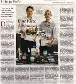 """Artikel in """"Die Welt"""""""